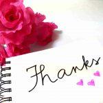 プロフィールムービーで「ありがとう」を伝えるコメント&BGM5曲